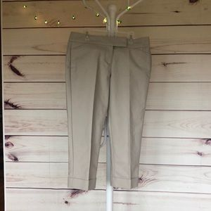 💐NWT ANN TAYLOR SIGNATURE CROPPED LEG TROUSERS